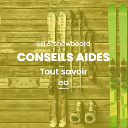 Conseils ski snowboard