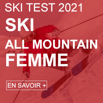 ski test all mountain femme 2021