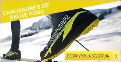 Chaussures ski de fond