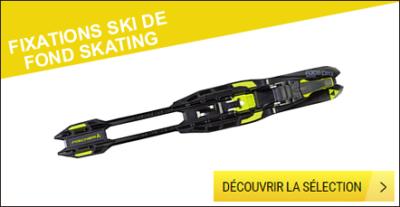 Fixations ski de fond skating