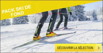 Pack ski de fond
