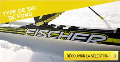 Type de ski de fond