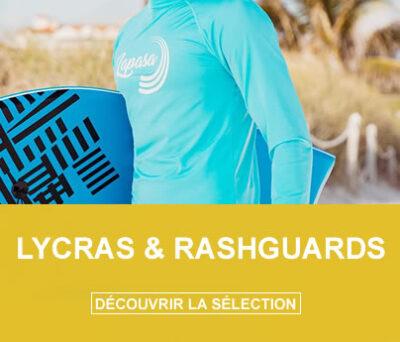 Lycras et rashguards