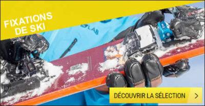 Fixations de ski discount
