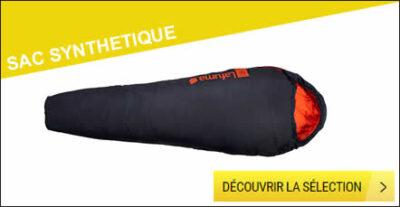 sac de couchage synthétique